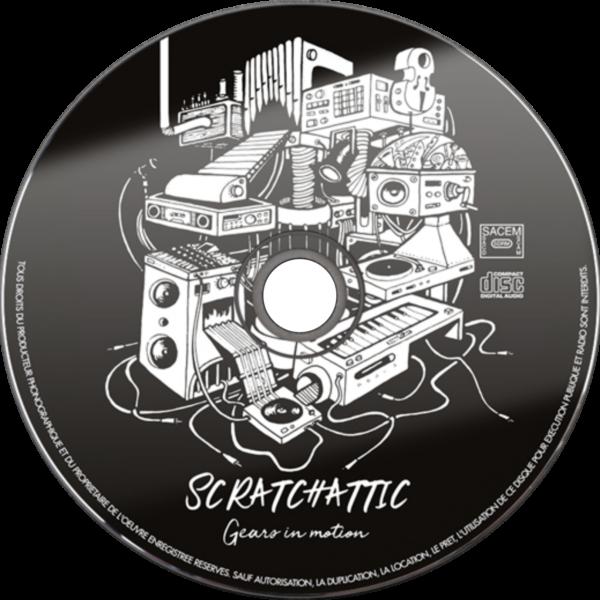 Visuel Scratchattic - Gears in motion réalisé par Bleeken